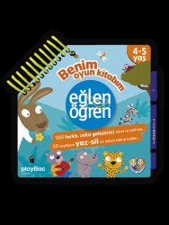 Eğlen Öğren - Benim Oyun Kitabım 4-5 yaş
