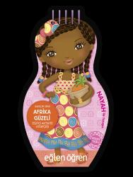 Eğlen Öğren - Minimiki GüzellerSerisi - Afrika Güzeli etkinlik kitabı