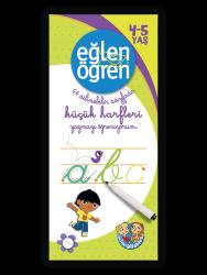 Eğlen Öğren - 40 Silinebilir Sayfa Küçük Harfler