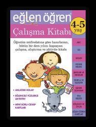 Eğlen Öğren - Eğlen Öğren Çalışma Kitabı 4-5 yaş