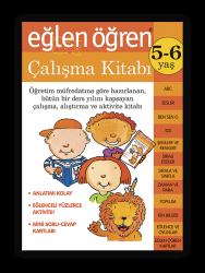 Eğlen Öğren - Eğlen Öğren Çalışma Kitabı 5-6 yaş