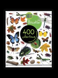 Eğlen Öğren - Eğlen Öğren Çıkartma Kitabı - Böcekler