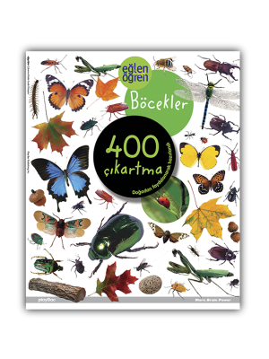 Eğlen Öğren Çıkartma Kitabı - Böcekler