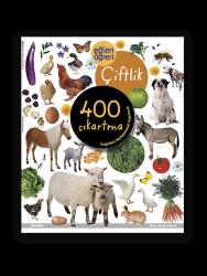 Eğlen Öğren - Eğlen Öğren Çıkartma Kitabı - Çiftlik