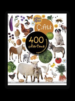 Eğlen Öğren Çıkartma Kitabı - Çiftlik