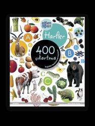 Eğlen Öğren - Eğlen Öğren Çıkartma Kitabı - Harfler