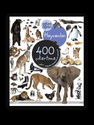 Eğlen Öğren - Eğlen Öğren Çıkartma Kitabı - Hayvanlar