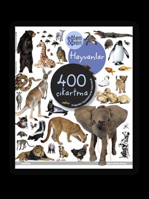 Eğlen Öğren Çıkartma Kitabı - Hayvanlar
