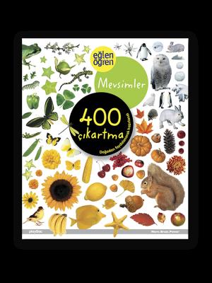 Eğlen Öğren Çıkartma Kitabı - Mevsimler