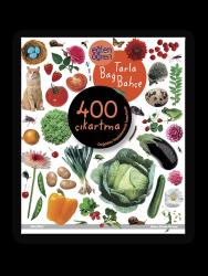Eğlen Öğren - Eğlen Öğren Çıkartma Kitabı - Tarla Bağ Bahçe