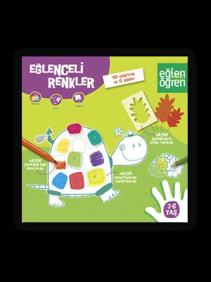 Eğlenceli Renkler etkinlik kitabı