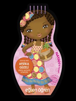 Minimiki GüzellerSerisi - Afrika Güzeli etkinlik kitabı