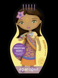 Eğlen Öğren - Minimiki GüzellerSerisi - Hindistan Güzeli etkinlik kitabı