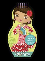 Eğlen Öğren - Minimiki GüzellerSerisi - İspanya Güzeli etkinlik kitabı