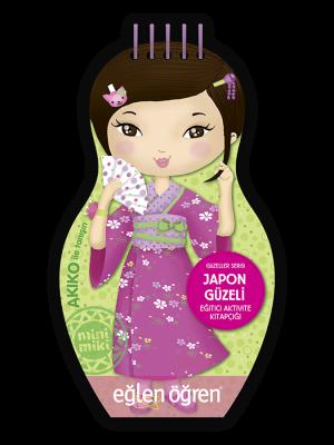 Minimiki GüzellerSerisi - Japon Güzeli etkinlik kitabı