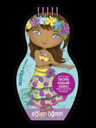 Eğlen Öğren - Minimiki GüzellerSerisi - Tropik Adalar Güzeli etkinlik kitabı