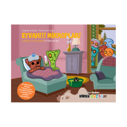 Eğlen Öğren - Korku Avcıları Eyvah Mikroplar - Resimli Öykü 3-8 Yaş