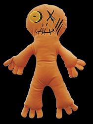 Eğlen Öğren - Korku Avcısı Ginger - Peluş oyuncak 38 cm