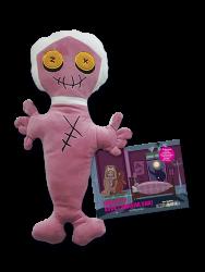 """Eğlen Öğren - Korku Avcısı Mummy ve """"Dikkat Evde Canavar Var"""" resimli öykü"""