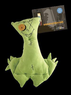 """Korku Avcısı Oswald ve """"Bodrum Katında Panik"""" resimli öykü"""