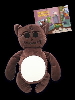 """Korku Avcısı Teddy ve """"Eyvah Mikroplar"""" resimli öykü"""
